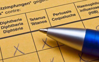 Have your Tetanus vaccine?